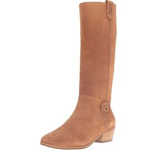 Jack Rogers SAWYER Suede Tall Boots. NWOT